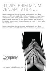 Religious/Spiritual: Family Harmony Ad Template #05745
