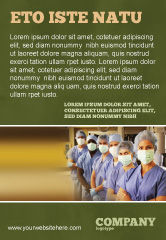 Medical: Modèle de Publicité de personnel médical à l'hôpital #05749