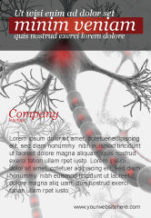 Medical: Neural Nodes Ad Template #05826