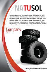 Careers/Industry: 轮胎广告模板 #05850