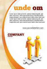 Business Concepts: Modèle de Publicité de handshaking #05920