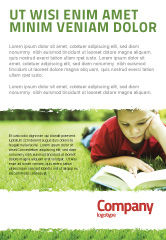 Education & Training: Reading On Summer Vacations Ad Template #05977