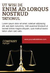 Legal: Modelli Pubblicità - Simbolo della giustizia #05997