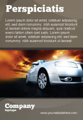 Cars/Transportation: Open Road Ad Template #06070