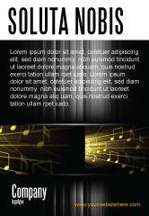 Art & Entertainment: Modelo de Anúncio - música stave #06089