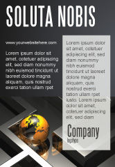 Consulting: Aarde In Labyrint Advertentie Template #06357