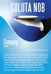 Business Concepts: Ober Advertentie Template #06397