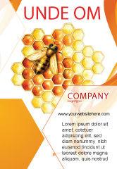 Nature & Environment: Modelo de Anúncio - colméia #06490