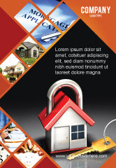 Financial/Accounting: Turnkey House Ad Template #06556