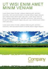 Nature & Environment: Plantilla de publicidad - día brillante #06630