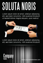 Business: Stretching a Hundred Dollars Ad Template #06646