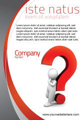 Consulting: Question Mark Ad Template #06651