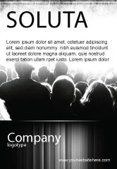 Art & Entertainment: Bende Advertentie Template #06683