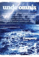 Nature & Environment: Plantilla de publicidad - mar azul real #06725