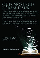 Education & Training: Vliegende Pagina's Advertentie Template #06947