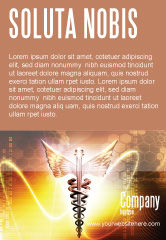 Medical: Caduceus Ad Template #06948