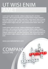 Business: Business Game Ad Template #06968