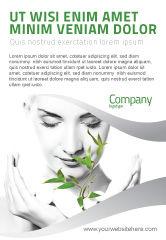 Nature & Environment: Bio Cosmetics Ad Template #07032