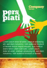 Religious/Spiritual: Racial Unity Ad Template #07178