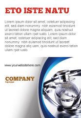 Medical: World Healing Ad Template #07228