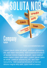 Financial/Accounting: Credits and Loans Ad Template #07279