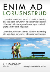 People: Oud Koppel Advertentie Template #07405