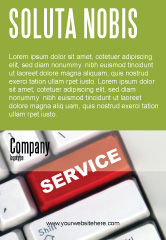 Careers/Industry: High-Tech Service Ad Template #07549