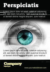 Technology, Science & Computers: Selectie Van Contactlenzen Advertentie Template #07585