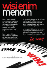 Consulting: Time to Win Ad Template #07651