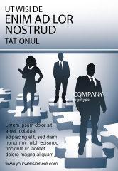 Careers/Industry: Modèle de Publicité de étapes de carrière #08120