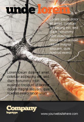 Medical: Neurons Networks Ad Template #08156