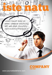 Consulting: 企业成功规划广告模板 #08235