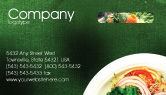 Food & Beverage: Banquet Business Card Template #00725