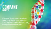 Technology, Science & Computers: DNA Business Card Template #00759