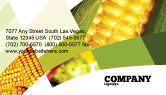 Food & Beverage: Maize Business Card Template #00973