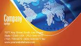 Global: Global Technologieën Visitekaartje Template #01456