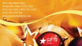 Holiday/Special Occasion: 명함 템플릿 - 새해 장식 #01715