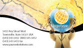 Global: World Discovery Business Card Template #01727