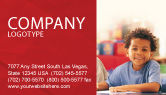 Education & Training: Basic Education Business Card Template #01743