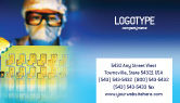 Technology, Science & Computers: Technology Development Business Card Template #01750