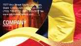 Flags/International: Belgian Flag Business Card Template #01751