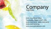 Food & Beverage: Modello Biglietto da Visita - Bibita analcolica #01808
