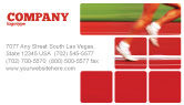 Sports: Race Business Card Template #02056