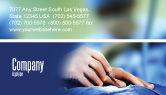 Medical: Urgent Surgery Business Card Template #02063
