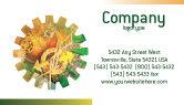 Technology, Science & Computers: 명함 템플릿 - 비즈니스 메커니즘 #02122
