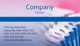 Business: Months Business Card Template #02297