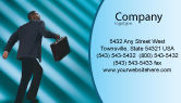 Careers/Industry: Career Climbing Business Card Template #02346