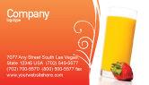 Food & Beverage: 명함 템플릿 - 주스 #02489