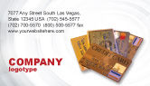 Financial/Accounting: Plastic Credit Card Business Card Template #02491