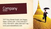 Business: Templat Kartu Bisnis Tanah Mimpi #02566